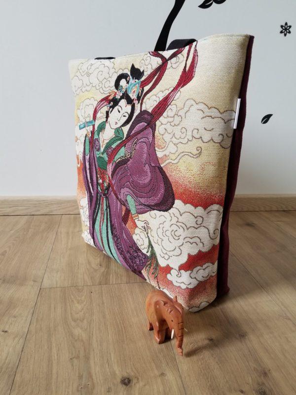 Tembo jacquard geisha violette