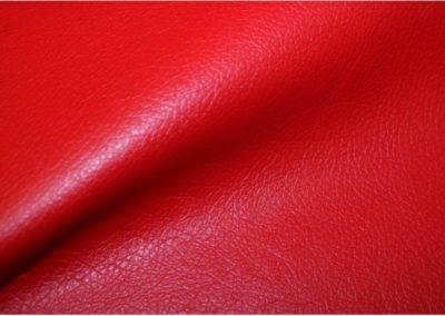 Simili Cuir Rouge