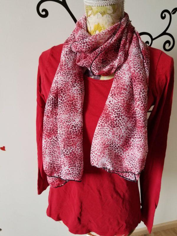 foulard en mousseline