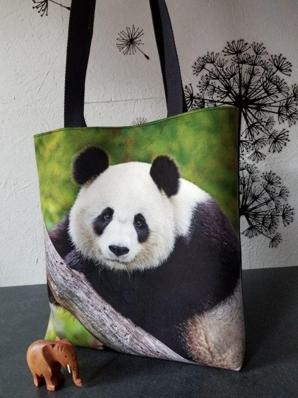 tembo velours panda noir face